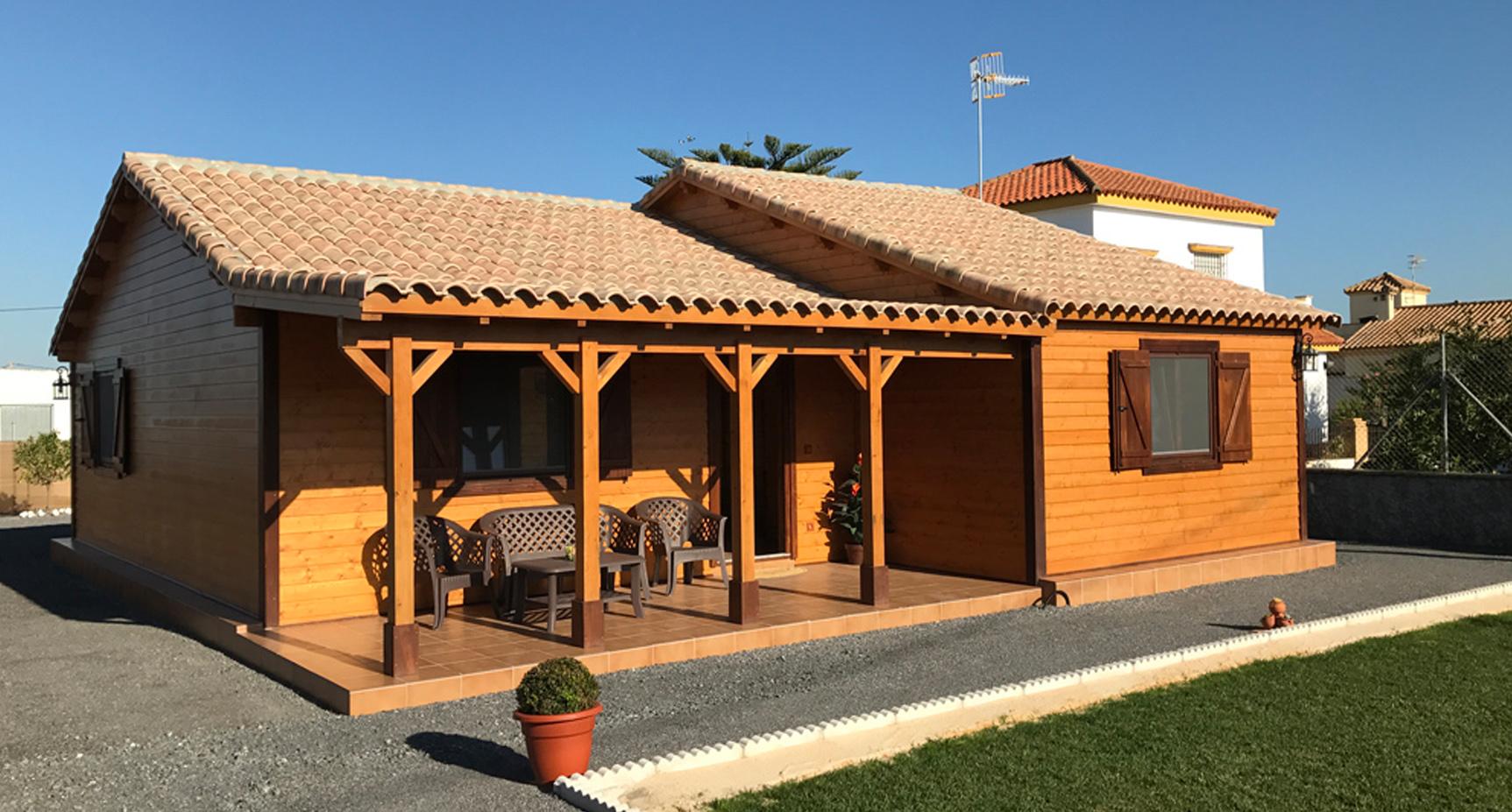 Rocio casas yustas - Casas de madera de una planta ...