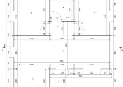 Casa de Madera Olvera 04 Plano