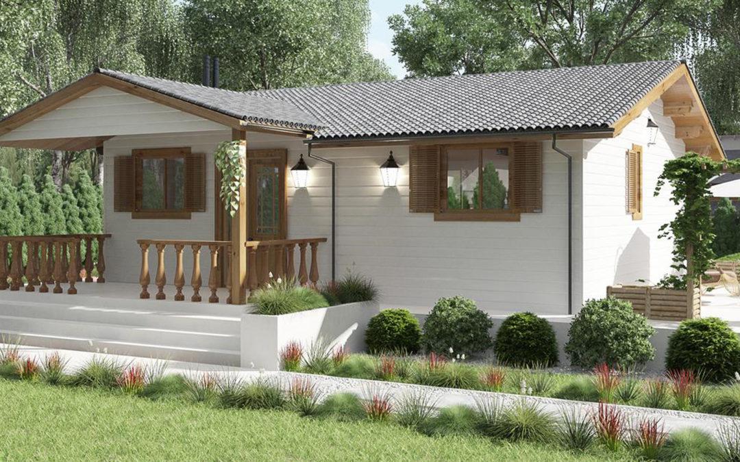Diferencias entre casa de madera, casa económica y bungalow